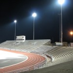 Kingston stadium with lighting installed by Trey Electric